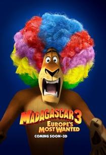Madagascar 3: Os Procurados - Poster / Capa / Cartaz - Oficial 4