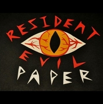 Resident Evil Paper - Poster / Capa / Cartaz - Oficial 1