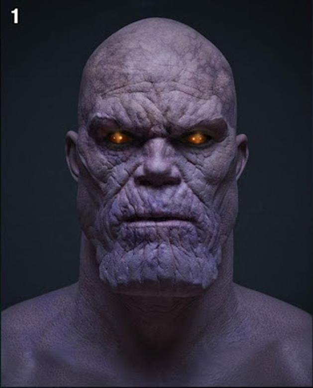 GARGALHANDO POR DENTRO: Notícia | Divulgada Imagem Do Vilão Thanos de Os Vingadores 2