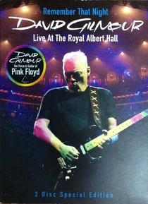 Remember That Night  David Gilmour Live At the Royal Albert Hall - Poster / Capa / Cartaz - Oficial 1