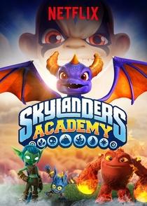 Skylanders Academy (1ª Temporada) - Poster / Capa / Cartaz - Oficial 1