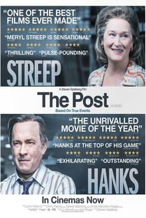 The Post: A Guerra Secreta - Poster / Capa / Cartaz - Oficial 7