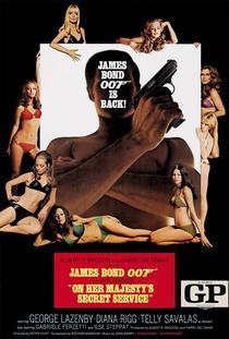 007 - A Serviço Secreto de Sua Majestade - Poster / Capa / Cartaz - Oficial 3