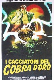 Os Caçadores da Serpente Dourada - Poster / Capa / Cartaz - Oficial 1
