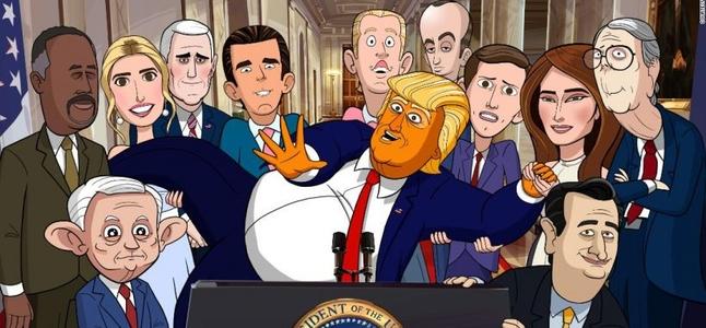 Confira O Trailer Do Novo Desenho Animado De Donald Trump Sons