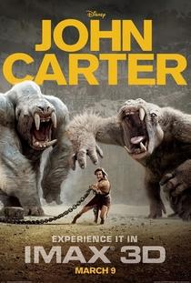 John Carter - Entre Dois Mundos - Poster / Capa / Cartaz - Oficial 1