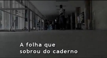 A Folha que Sobrou do Caderno  - Poster / Capa / Cartaz - Oficial 1