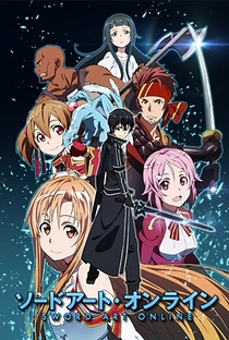 Sword Art Online (1ª Temporada) - Poster / Capa / Cartaz - Oficial 2