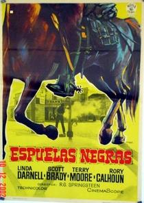O Pistoleiro de Esporas Negras - Poster / Capa / Cartaz - Oficial 2