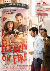 Tel Aviv em Chamas - Poster / Capa / Cartaz - Oficial 5