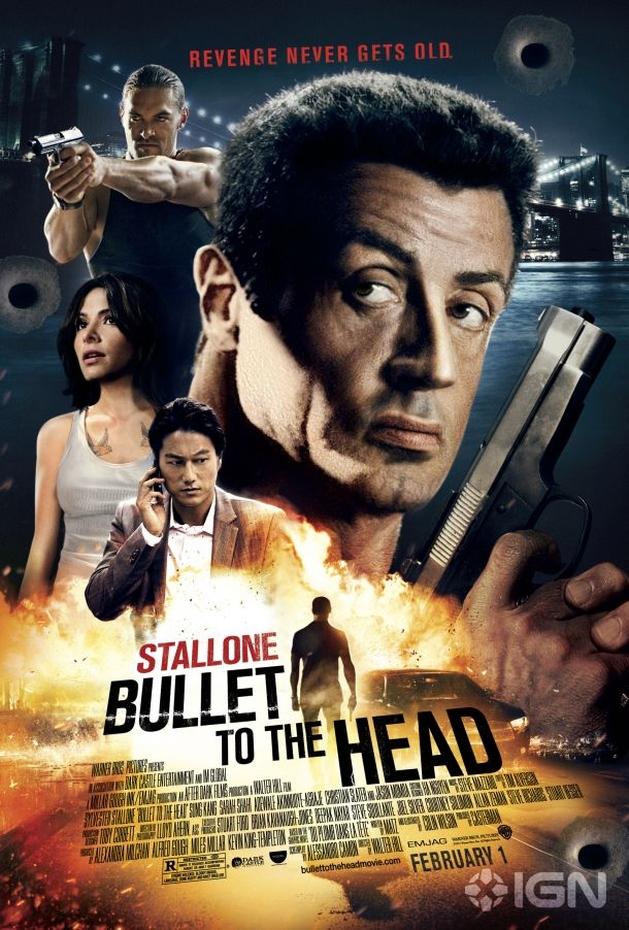 Veja poster de Bullet To The Head | Vortex Cultural