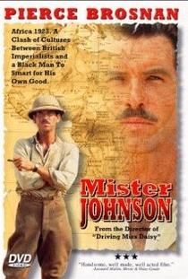 Mister Johnson - No Coração da África - Poster / Capa / Cartaz - Oficial 1