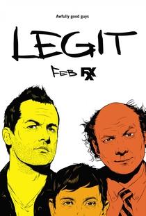 Legit (2ª Temporada) - Poster / Capa / Cartaz - Oficial 1