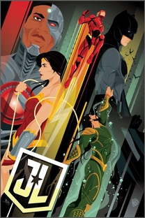 Liga da Justiça - Poster / Capa / Cartaz - Oficial 13
