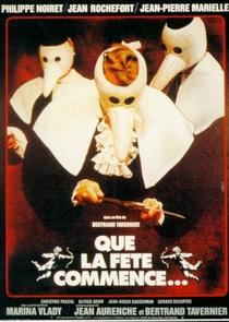 Que a Festa Comece - Poster / Capa / Cartaz - Oficial 1