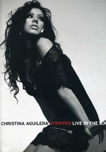 Christina Aguilera: Stripped Live in the UK - Poster / Capa / Cartaz - Oficial 1