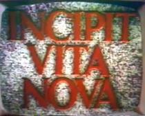 Incipit Vita Nova - Poster / Capa / Cartaz - Oficial 1