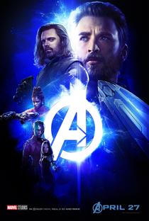 Vingadores: Guerra Infinita - Poster / Capa / Cartaz - Oficial 23
