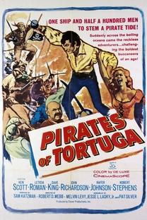 Os Piratas de Tortuga - Poster / Capa / Cartaz - Oficial 2