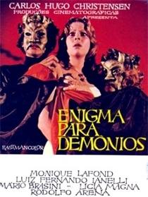 Enigma Para Demônios - Poster / Capa / Cartaz - Oficial 1