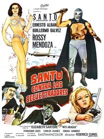 Santo Contra los Secuestradores - Poster / Capa / Cartaz - Oficial 1