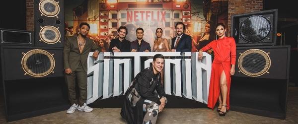 KondZilla e elenco de Sintonia celebram pré-estreia em São Paulo