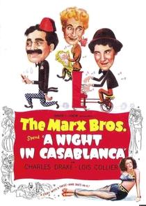 Uma Noite em Casablanca - Poster / Capa / Cartaz - Oficial 3