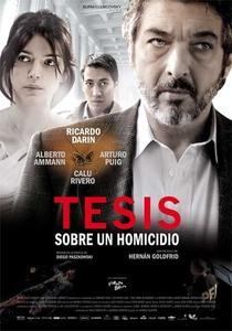 Tese Sobre um Homicídio - Poster / Capa / Cartaz - Oficial 1