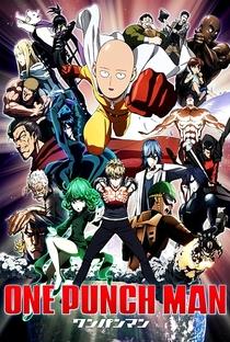 One Punch Man (1ª Temporada) - Poster / Capa / Cartaz - Oficial 2