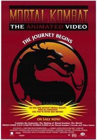 Mortal Kombat - Animação - Poster / Capa / Cartaz - Oficial 2