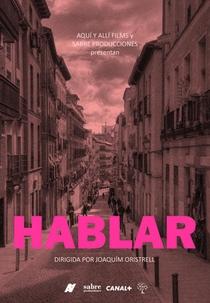 Hablar - Poster / Capa / Cartaz - Oficial 1