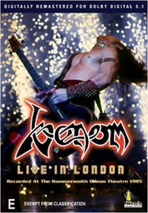 Venom - Live in London 1985 - Poster / Capa / Cartaz - Oficial 1