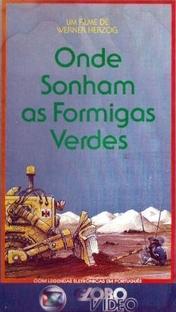 Onde Sonham as Formigas Verdes - Poster / Capa / Cartaz - Oficial 2
