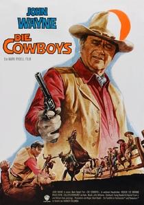 Os Cowboys - Poster / Capa / Cartaz - Oficial 3