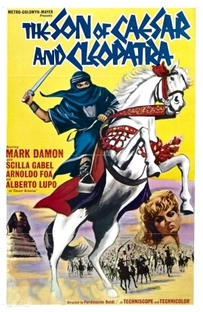 O filho de César e Cleópatra - Poster / Capa / Cartaz - Oficial 2