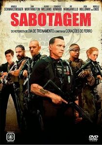 Sabotagem - Poster / Capa / Cartaz - Oficial 8