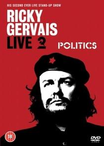 Ricky Gervais Live 2: Politics - Poster / Capa / Cartaz - Oficial 1
