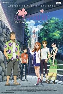 Ano Hi Mita Hana no Namae wo Bokutachi wa Mada Shiranai. Movie - Poster / Capa / Cartaz - Oficial 1