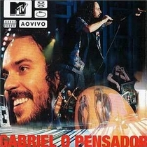 Gabriel o Pensador - MTV ao Vivo - Poster / Capa / Cartaz - Oficial 1