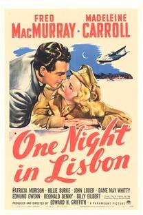 Uma Noite em Lisboa  - Poster / Capa / Cartaz - Oficial 1