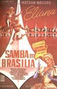 Samba em Brasília - Poster / Capa / Cartaz - Oficial 1