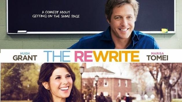 "Película Criativa: Trailers - Hugh Grant e Marisa Tomei juntos na comédia romântica ""The Rewrite"""