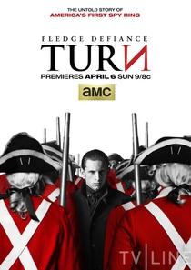 TURN (1ª Temporada) - Poster / Capa / Cartaz - Oficial 1