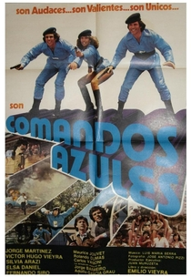 Comandos Azules - Poster / Capa / Cartaz - Oficial 1