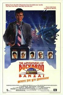 As Aventuras de Buckaroo Banzai - Poster / Capa / Cartaz - Oficial 2