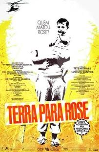 Terra Para Rose - Poster / Capa / Cartaz - Oficial 1