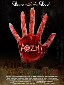 Attack at zombie high - Poster / Capa / Cartaz - Oficial 1