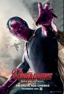 Vingadores: Era de Ultron - Poster / Capa / Cartaz - Oficial 21
