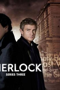 Sherlock (3ª Temporada) - Poster / Capa / Cartaz - Oficial 3