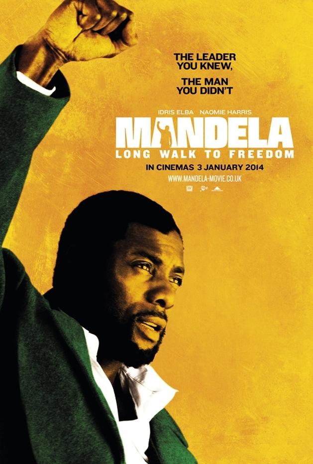 """Nelson Mandela e Winnie Mandela em novos pôsteres de """"Mandela: Long Walk to Freedom"""""""